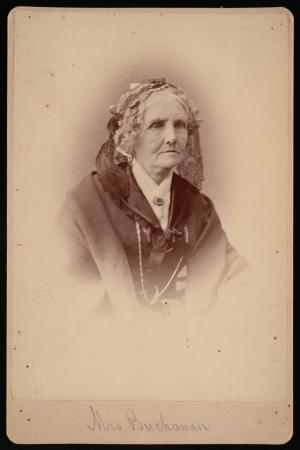 Portrait of an older woman.