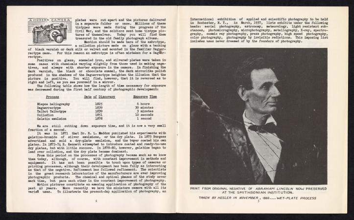 Supplement informations from the World is Yours episodes. A portrait of a young Abraham Lincoln is a