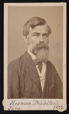 Portrait of Herman Henry Diebitsch
