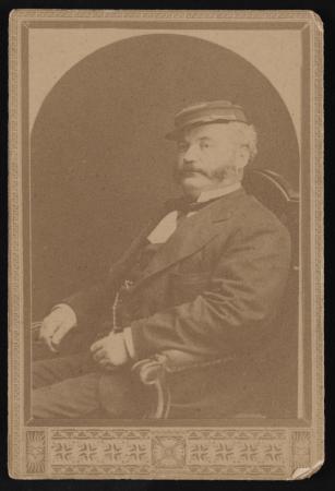 Portrait of Henry Joseph Horan, seated.