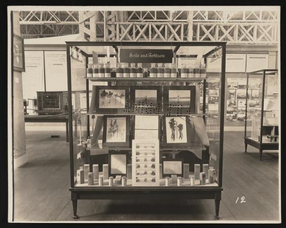 Archives Puzzles: Giving the People What They Want...An Exhibit Case about Soils and Fertilizers...