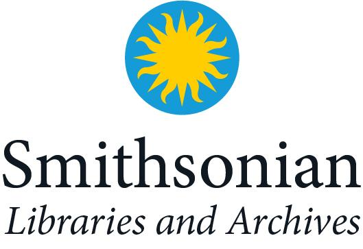 Smithsonian Libraries and Archives logo with the sunburst.