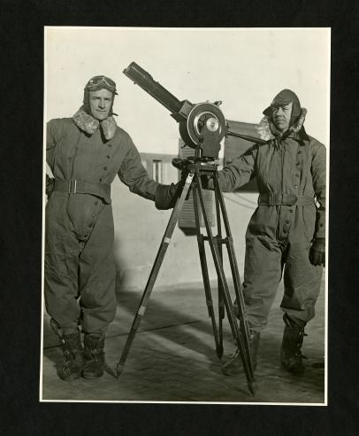 Photographers Alvin K. Peterson and Walter Leroy Richardson.