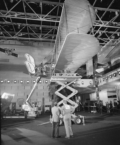 Taking Down the Wright Flyer, by Mark Avino