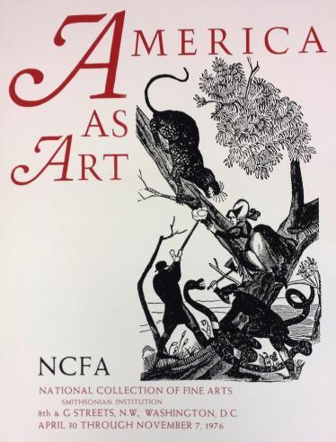 American As Art, 1976.