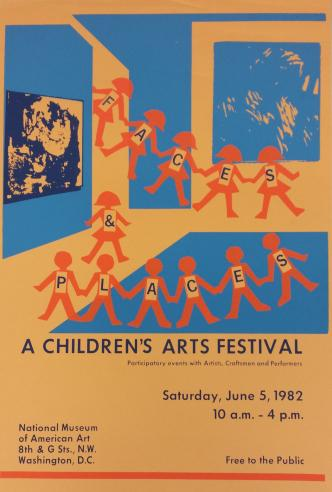A Children's Art Festival, 1982.