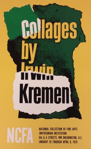Collages by Irwin Kremen, 1979.