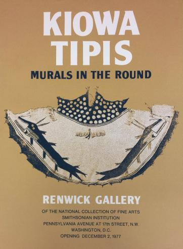 Murals in the Round: Painted Tipis of the Kiowa and Kiowa-Apache Indians, 1977-1978.