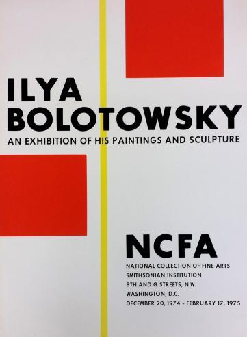 Ilya Bolotowsky, 1974-1975.