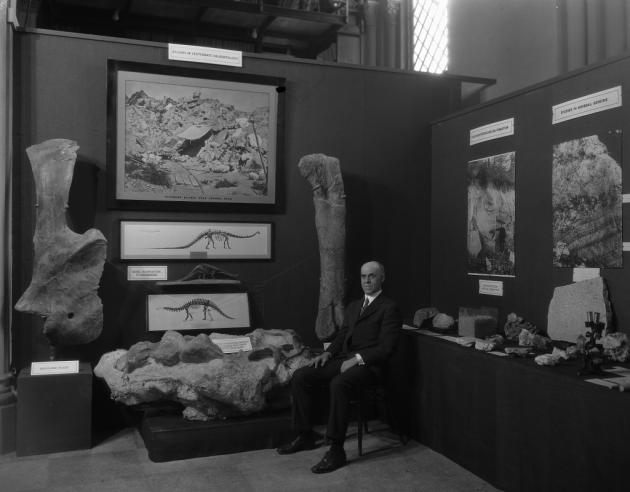 Vertebrate Paleontology Exhibit at the Conference on the Future of the Smithsonian, February 11, 192