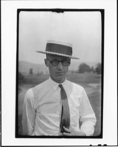 Tennessee v. John T. Scopes Trial: John Thomas Scopes, June 1925.