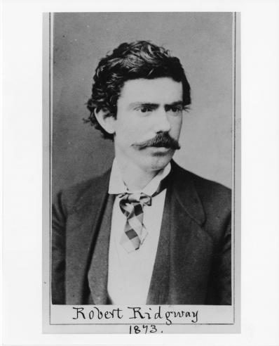 Robert Ridgway, 1873. Record Unit 95 - Photograph Collections, 1850s- , Smithsonian Institution Arch