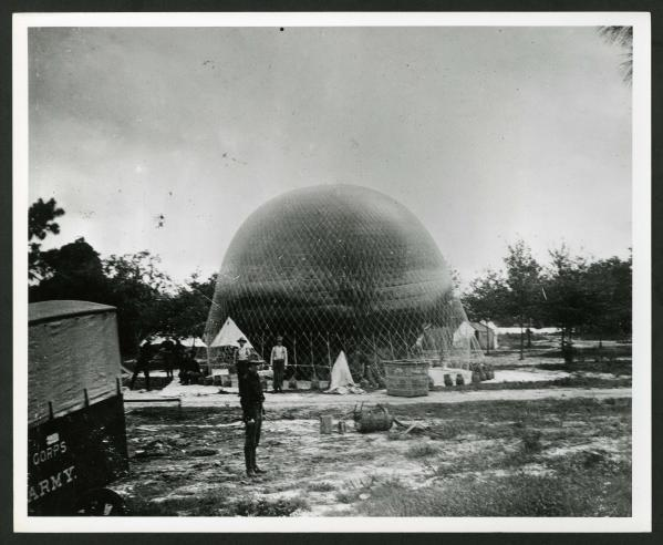 Signal Corps Balloon, Tampa, Florida