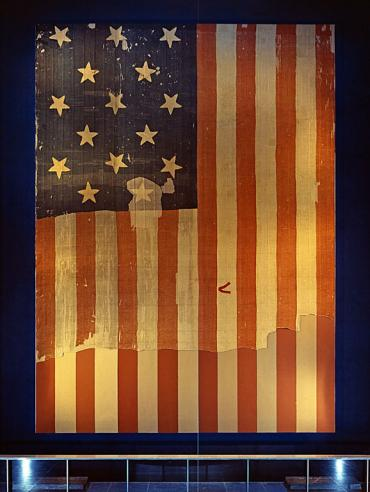 Star-Spangled Banner, National Museum of American History, c. 1964, MAH-P6427.