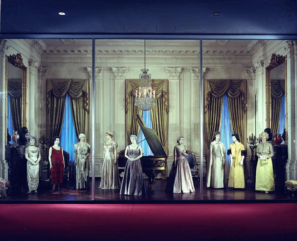 First Ladies Hall, National Museum of History & Technology, 1972, 72-7078.